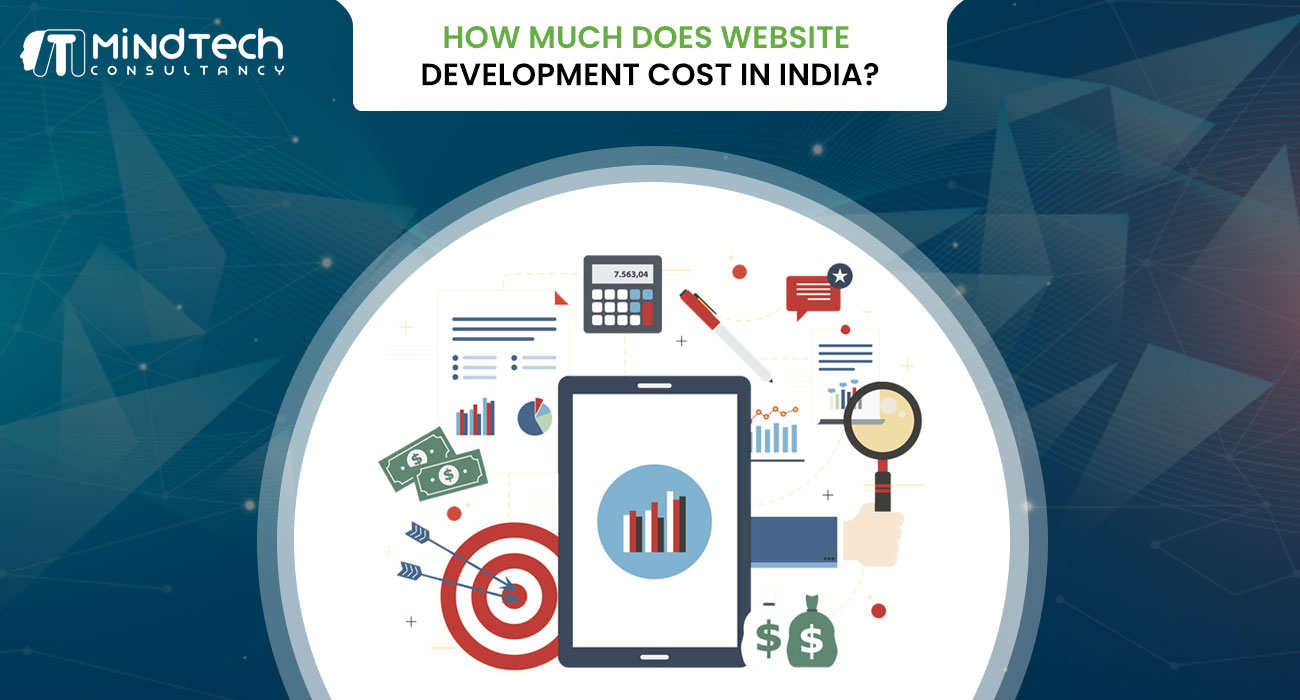 website development cost in India