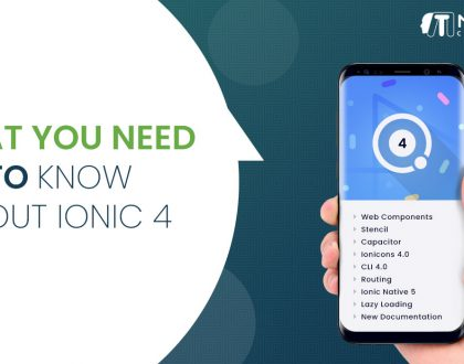 Whats new features in Ionic 4