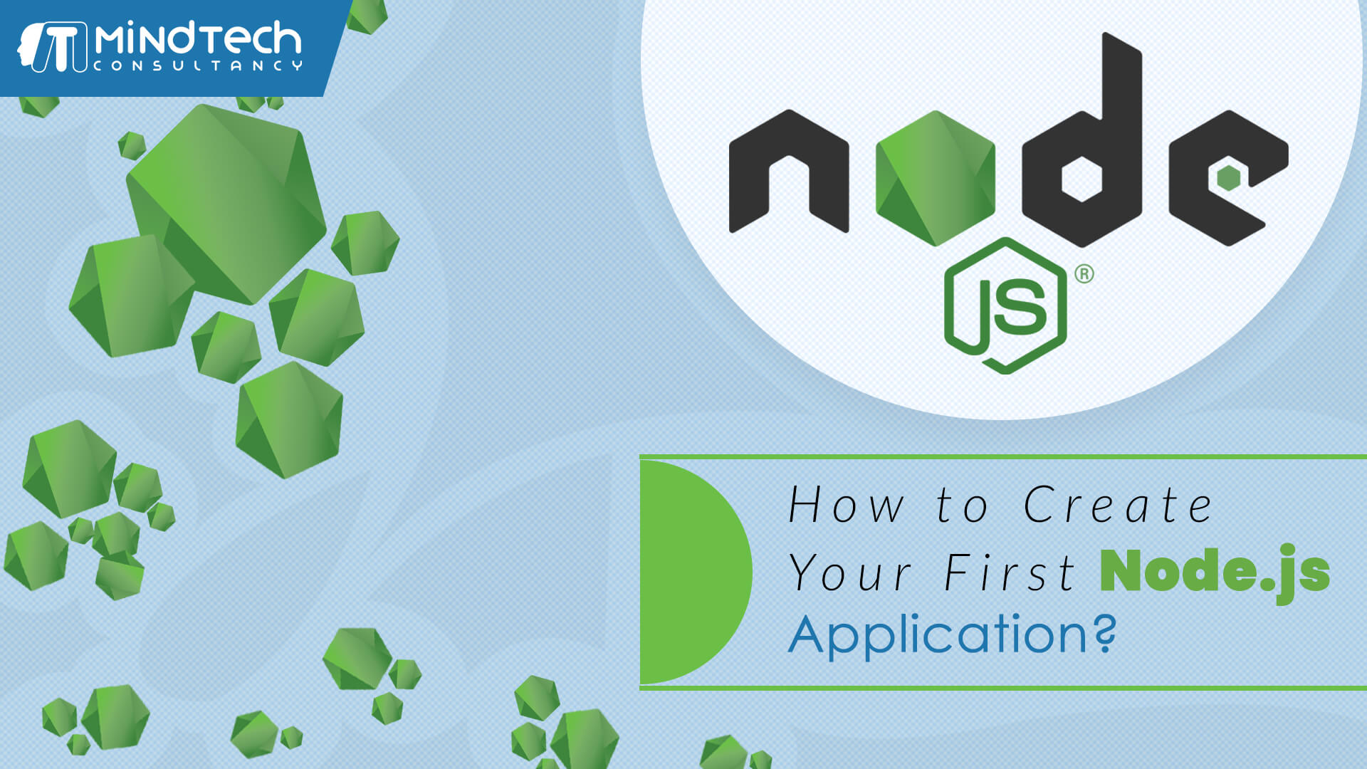 create your first node js application