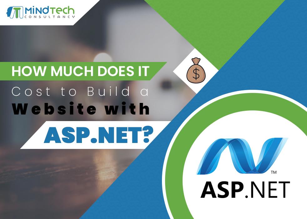 asp.net web development cost